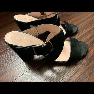 Kate Spade black heels. Size 9